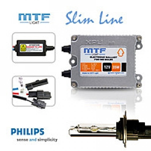 Ксенон MTF-Light Slim Line MSP с лампами Philips