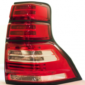 Задняя оптика для Toyota Land Cruiser Prado 150 (2010+) Red/Clear