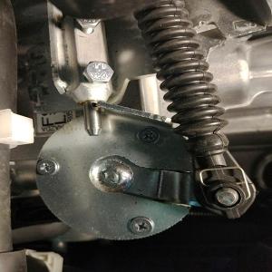 Подкапотный механический замок КПП Gearlock