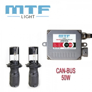 Ксенон MTF-Light 50W с обманкой Can-bus
