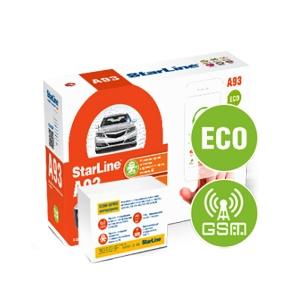 Автосигнализация StarLine A93 GSM ECO